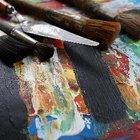 Como fazer a cor dourada para pintura a óleo
