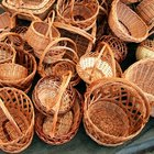 How to make round basket liners