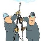 Herramientas de limpieza de una campana extractora