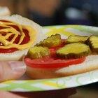 Cómo preparar pepinillos para hamburguesa