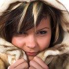 Como limpar uma jaqueta de pele de coelho