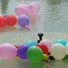 Juegos con globos de agua para jóvenes