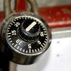 Cómo forzar la combinación de un candado Master Lock