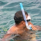 How to attach a snorkel to a mask