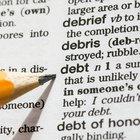 Definición de deuda en contabilidad