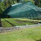 Heating a greenhouse with propane