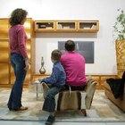 Haz tu propia mesa moderna para televisor