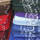 What Is the meaning of coloured bandanas?