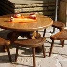 Cómo hacer patas de madera para mesas