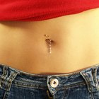 How to cure a belly button infection