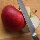 Cómo hacer que las manzanas no se oxiden en un almuerzo para la escuela