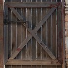 How to straighten a twisting wooden gate