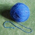 Como encontrar a ponta da lã dentro do novelo