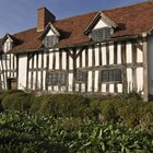 How to make a model Tudor house out of cardboard