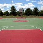 How to Make an Outdoor Basketball Court Floor