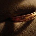Etiqueta para el anillo de bodas de una viuda