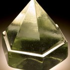 Como fazer um modelo para uma pirâmide de base hexagonal