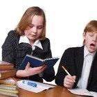 Actividades de transición para niños en edad escolar