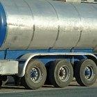 Dimensiones típicas de un camión cisterna