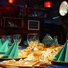 Tipos de plegado de servilletas de mesa