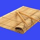 Como fazer sushi sem uma esteira de bambu