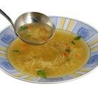 Diferentes tipos de sopa