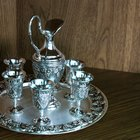 The value of silver plate silverware