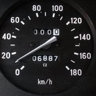How to recalibrate a speedometer after a tyre size increase