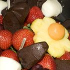 Crear y mantener fresco un bouquet comestible de frutas
