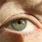Os sintomas de olhos sensíveis