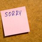 Como mostrar à pessoa amada que você está arrependido