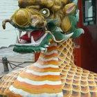 Como fazer um dragão chinês