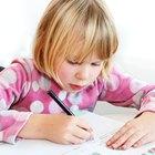 Desarrollo de la escritura en la niñez temprana