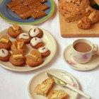 Variedades de pasteles pequeños