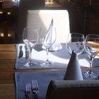 Lista de verificación para el control de calidad de  un restaurante