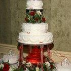 Instruções para congelamento e descongelamento de bolos de casamento