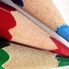 Como usar lápis de cor em papel manteiga