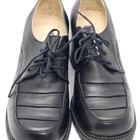 Número de calzado mediano D vs. ancho EE