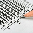 How to read the barcode label on a product