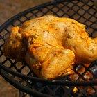 Temperaturas para el pollo a la parrilla