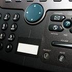 Como configurar a hora em telefones Panasonic KX T7730