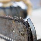 Como afiar uma motosserra para facilitar o corte do tronco em tábuas