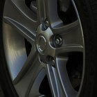 How to repair a dent in alloy wheels