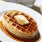 Cómo hacer jarabe para panqueques y waffles
