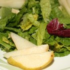 Spinach and lettuce both are used as foundations for salads.
