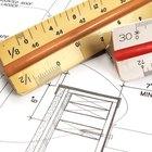 Cómo leer una regla escala de arquitecto