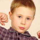 Comportamiento agresivo de niños en edad escolar