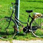 Como remover a pintura do quadro de uma bicicleta de alumínio