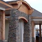 Ideas de piedras y ladrillos para revestimiento exterior y puertas y ventanas acentuadas