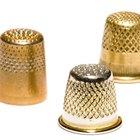 Identifying antique thimbles